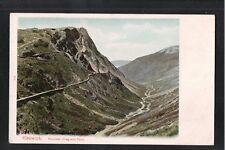 L@@K  Keswick Honister Crag and Pass Cumbria 1905 Postcard ~ NICE SHADES