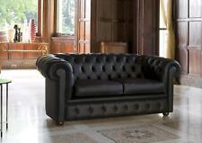 Chesterfield Sofa Couch Polster Sofas Klassischer 2 Sitzer Sitz Leder Zweisitzer