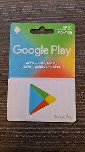 £50 Google play gift card to be posted only, don't ask for an emailed code