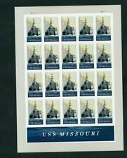 U.S. SCOTT # 5392 - USS MISSOURI - MNH  SHEET  SCV - $22.00