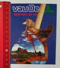 Pegatina/sticker: Vaude Vau de-Hard Rock My Fun (170417163)