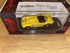 Bang Model 7149 Ford Cobra Spyder Bardhal Trophy Yellow 1:43 Box 6
