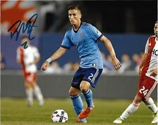 New York City Fc Ben Sweat Autographed Signed 8x10 Mls Photo Coa
