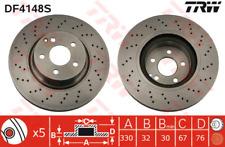 Disque de frein (2 pièces) - TRW df4148s