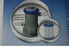 Bestway Filterpumpe Typ 58383 Kartuschen Filter Poolpumpe Neu & OVP