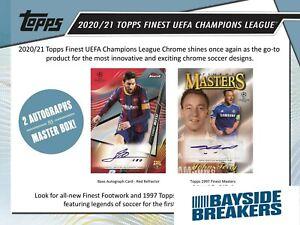 Manchester City FC 2020-21 Topps UCL Finest Soccer Full Case (8 Box) Break #3