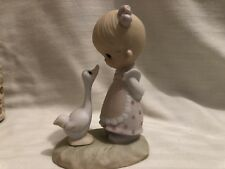 "Jonathan and David(Precious Moments) ""Make a Joyful Noise"" Figurine.  1978"