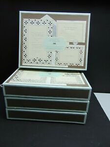 NEW-Wedding-Invitation-Kit-For-30-The-Wedding-Studio-from-Anna-Griffin 4 boxs