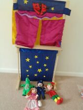 Fiesta Craft Puppet Theatre And  Hand Puppets