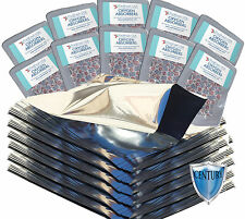 (100) Gallon Premium Mylar Foil Bags + 500cc Oxygen Absorbers + FREE LTFS Guide