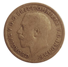 1921 SILVER COIN - THREEPENCE - George V. - 1921    #UEC90