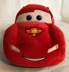 "Disney Pixar Cars 12"" Lightning McQueen Plush Stuffed Plush Car Doll. Piston Cup"