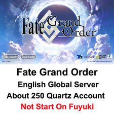 [NA]Fate Grand Order FateGo English Global Server about 250saint quartz account