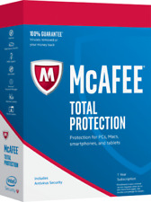 McAfee Total Protection 2020 1 User 1 Year for New & Existing Customers