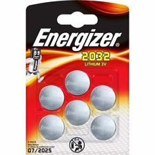 6 x Energizer CR2032 3V batteria litio moneta cella 2032, DL2032, BR2032, SB-T15