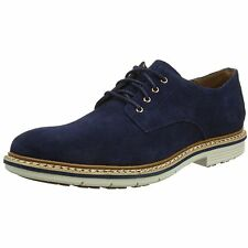 TIMBERLAND NAPLES OXFORD LACE UP SHOES. NAVY BLUE SUEDE, SZ 9 UK, 43.5 EU, NEW