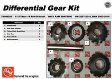 American Car Truck Differentials Parts With Unspecified Warranty. Dodge Chevy 2500 3500 2003up 115 Aam 14bolt Rear Axle Spider Gear Kit 74046293. Chevrolet. 2006 Chevy Silverado Parts Diagram 26060977 At Scoala.co