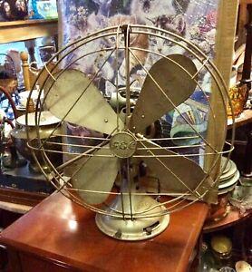 Vintage electric GEC OSCILLATING FAN 16''