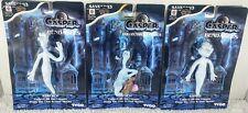 3 Casper the friendly ghost 1995 Tyco Figurines stinkie & 2 stretches.