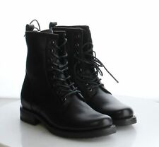 62-40 MSRP $278 Women's Size 7.5B Frye Veronica Black Leather LaceUp Combat Boot