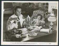 ROBERT CUMMINGS BARBARA HALE in The First Time '52 BANANA