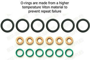 Injector Seal Copper Ring Tube Installation Kit For Dodge Ram 5.9 Cummins 98-02