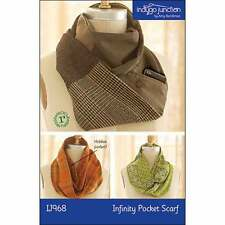 """INDYGO JUNCTION """"INFINITY POCKET SCARF"""" Sewing Pattern"""