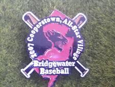"""Bridgewater Cooperstown Little League 1 1/2"""" Pin Baseball"""
