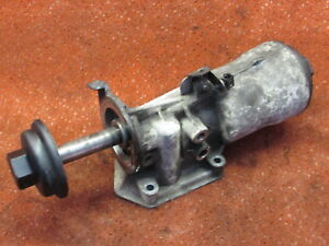 045115389G Ölfilterflansch Ölfilterhalter Diesel VW Caddy Golf 5 Passat Tiguan
