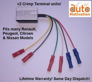 """Crimp"" Electric Window Motor/Regulator Control Unit/Module/ECU for Renault"