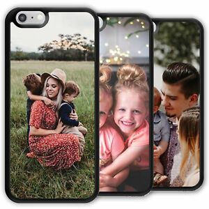 PERSONALIZED HARD PC PHONE CASE COVER CUSTOM WITH PHOTO PICTURE IMAGE TEXT