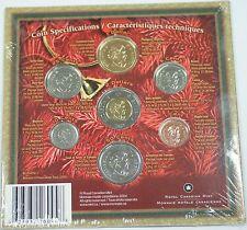 2004 Canada Holiday Gift 7 Coin Set Ensemble-Cadeau des Fetes