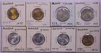 ALGERIA 5 Centimes-1 Dinar 1970-85 8 Coins UNC Set FAO