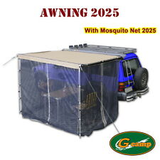 G Camp 2025 Awning Mosquito Net Roof Top Tent Camper Trailer 4wd Car Rack