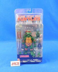 Leonardo Figure Teenage Mutant Ninja Turtles TMNT 2008 NECA Sealed in Package