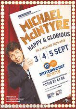 Event Promo Flyer: Michael McIntyre - UK & I Tour (Motorpoint, Cardiff, 2015)