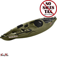 Sun Dolphin Journey 10' Sit-On Fishing Kayak with Paddle Olive