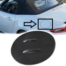 Dry Carbon For Mazda Miata MX-5 MX5 ND 4th Outside Fuel Cap Fin Cover Trim Club