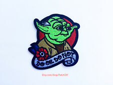 1x Yoda Star Wars patch Iron On Embroidered Applique - episode legendary science