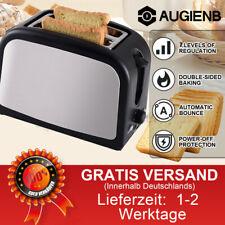 Toaster 2 Scheiben Brötchenaufsatz Toastautomat Küchenzubehör Sandwich 800W
