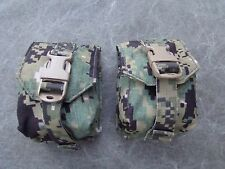 NSW DEVGRU Eagle Industries AOR2 Camo BL Frag Grenade Pouch Lot of two (2) New
