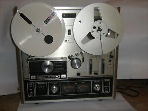 Tonbandgerät Akai X-201D ( leicht defekt )+ 35 Bänder