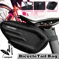 Bicycle Bikes Saddle Bag Seat Tail Cycling Frame Waterproof Storage Pouc /*/