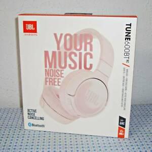 NEW JBL TUNE600BTNC WIRELESS ON-EAR NOISE-CANCELLING HEADPHONES W/ BUILT-IN MIC