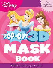 "Disney ""Princess"" Pop-out Mask Book (Disney Pop Out 3d Mask Book), , New Book"