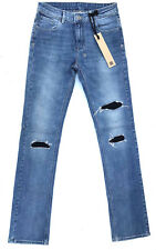 NEW RRP $389 Womens Stunning ksubi 'THE MAC OLD PONY' Patch Jeans Size 27 W34