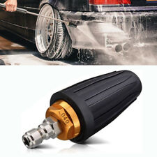 High Pressure Water Washer Turbo Head Nozzle Spray 1/4'' Quick Connect 4000PSI
