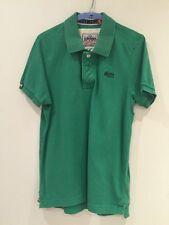 Men's Green Superdry UK Large T/shirt