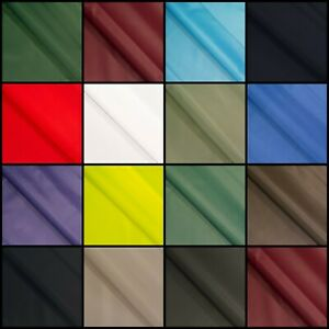 Waterproof Canvas Fabric 4oz Heavy Duty Thick Outdoor Cover Material 150cm Wide
