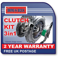 HK6265 BORG & BECK CLUTCH KIT 3-in-1 fits Renault Clio, Kangoo, Megane